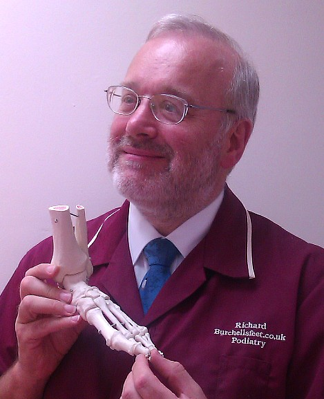Our Podiatrist, Richard Burchell.